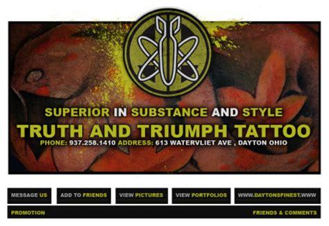 truth and triumph tattoo triumph studio