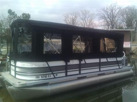 custom pontoon enclosures pontoon enclosures dougs upholstery
