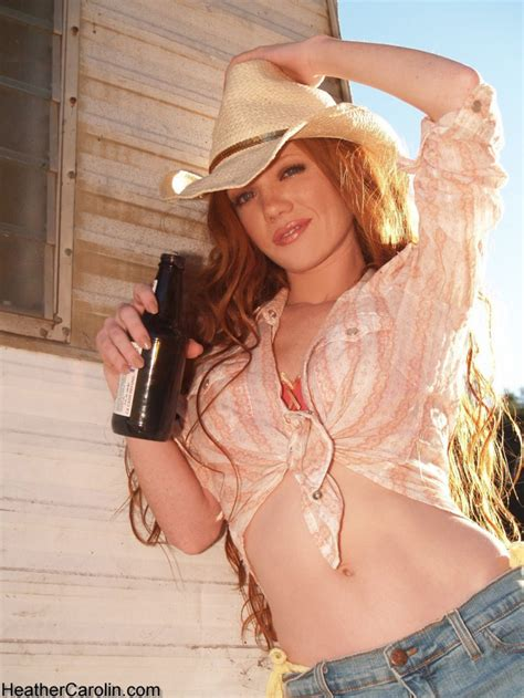 Heather Carolin Redhead Country Girl