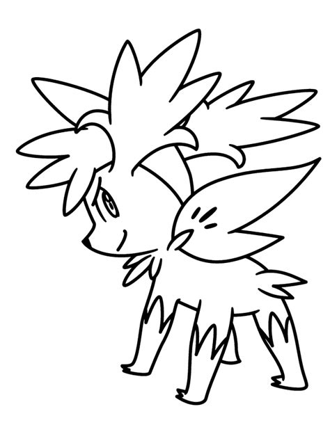 pokemon coloring pages shaymin pokemon shaymin pictures kids pokemon diamond pearl
