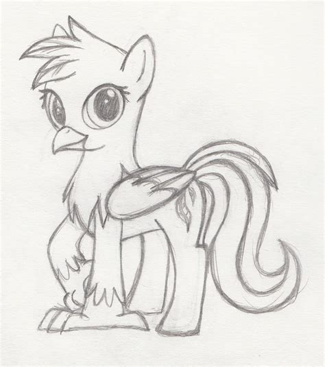 hippogriff coloring page how to draw hippogriff