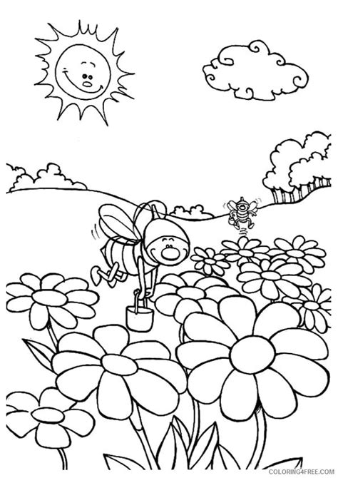 preschool nature coloring pages nature coloring pages for preschool nature best free
