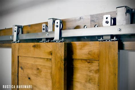 Bypass Sliding Closet Door Hardware By Pass Barn Door Hardware Allows Up To 3 Doors To Slide In Front Or In Back Of Each Other