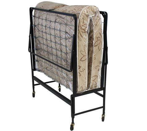 Size Rollaway Bed by Serta Size Rollaway Bed With Fiber Mattress Qvc