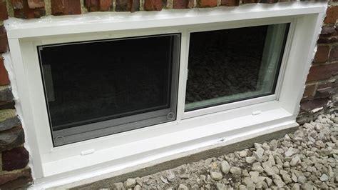 everlast basement windows dryzone llc basement waterproofing photo album everlast window installation pittsville md