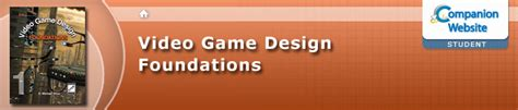 game design resources video game design foundations student site resources
