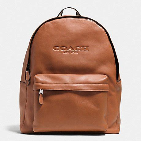 Coach Backpack Brown Leather Tas Coach Original jual sale coach s cus backpack leather brown di