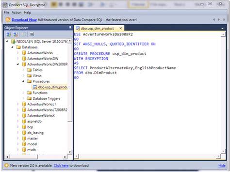 ver imagenes guardadas en sql server desencriptando un procedimiento almacenado en sql server