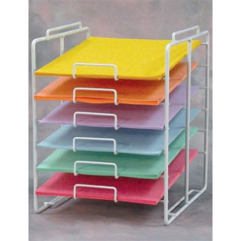 Paper Rack | scrapbooking paper shelves