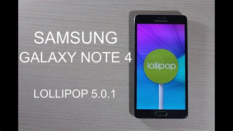 samsung galaxy note  oficial android  lollipop review en espanol youtube