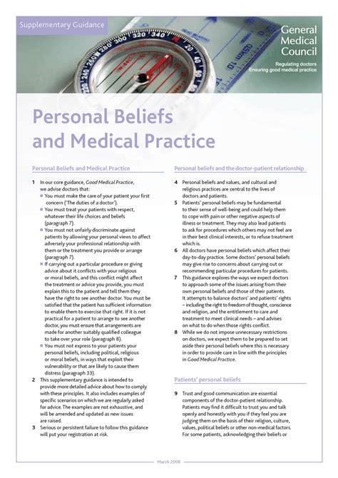 duties of a doctor gmc practice gmc pdf
