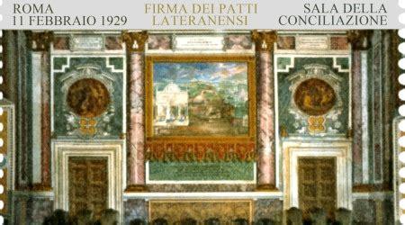 patti lateranensi testo firma patti lateranensi francobollo di poste italiane