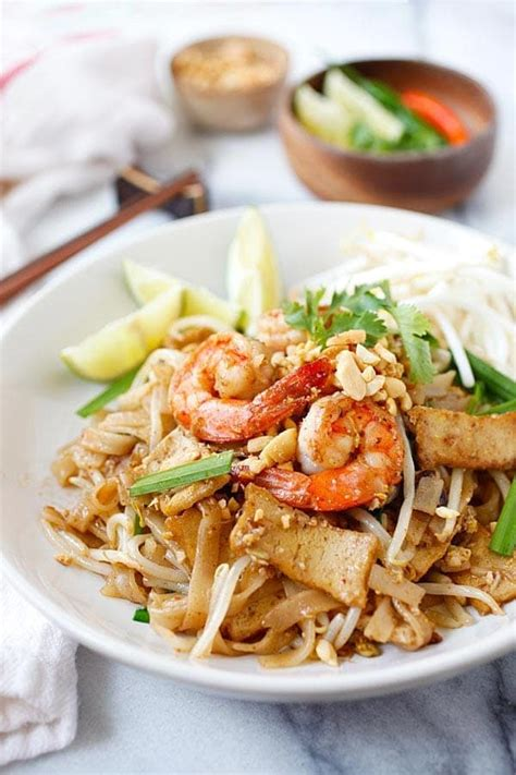 best pad thai sauce brand shrimp pad thai recipe healthy rasa malaysia