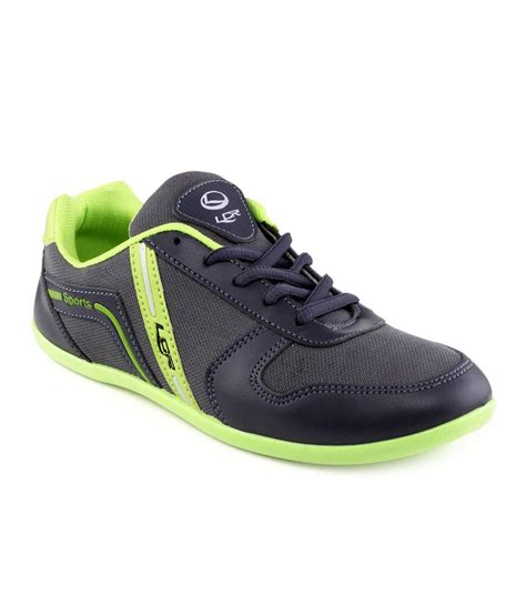 buy lancer gray green casual shoes for