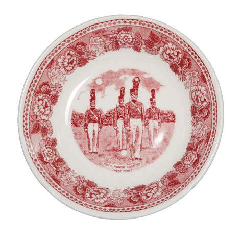 Set Unq west point academy small dish seaway