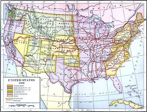 map of railroad tracks in usa united states expansion and the railroads