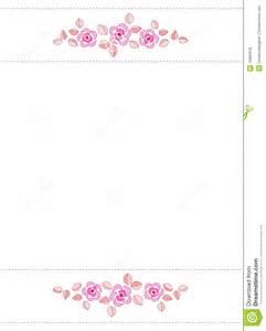 rose border wedding invitation royalty free stock photos