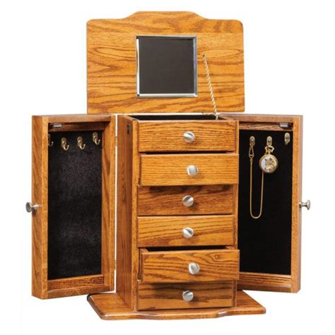 Traditional Jewelry Armoire by Traditional Jewelry Armoire Amish Crafted Furniture