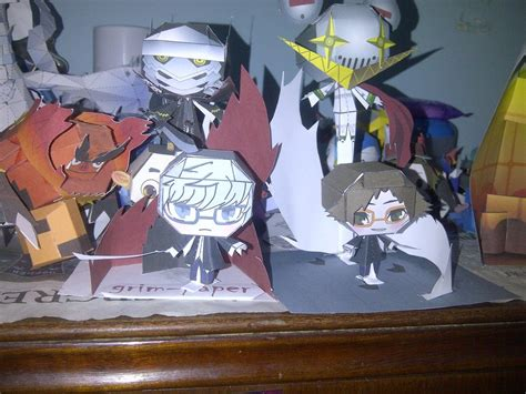 Persona Papercraft - persona papercraft colection by grim paper on deviantart