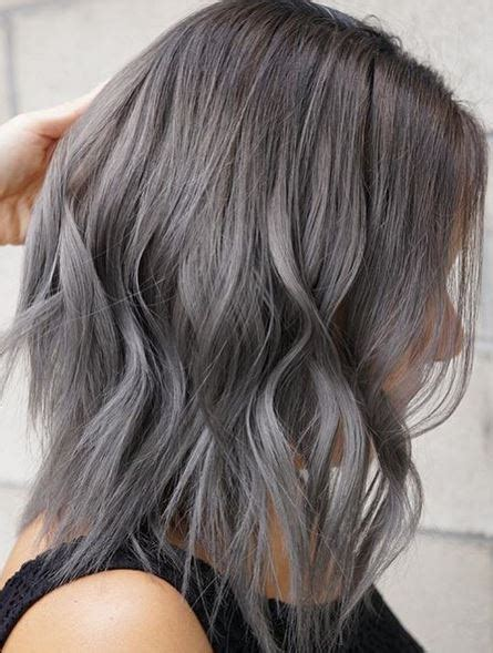 hair color for grey hair gray hair mane interest