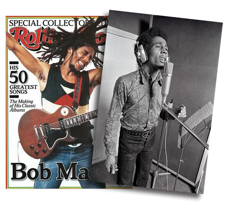 do you have a video rolling bob with layers rare bob marley photograph in rolling stone special issue