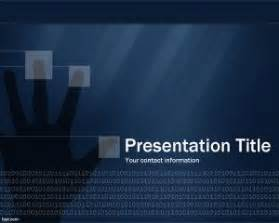 free security powerpoint template