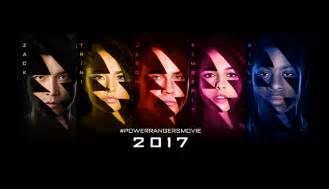 power rangers character posters bring team