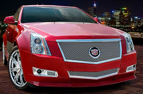 Cadillac Cts Grills by Cadillac Cts Coupe Heavy Mesh Grille By E G Classics 2011
