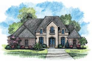 653725 1 story 5 bedroom french country house plan house plans