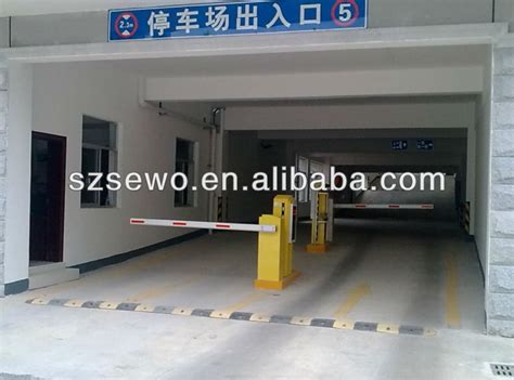 smart induction car parking barrier gate operator parking