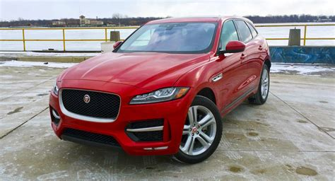 jaguar jeep review the jaguar f pace suv never stops trying to be a