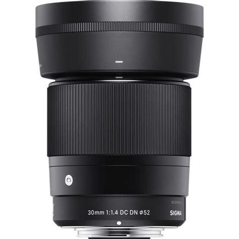 Lensa Sigma 30mm F 1 4 jual sigma 30mm f 1 4 dc dn contemporary lens for sony e
