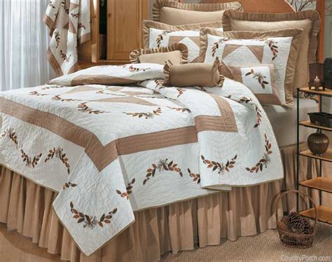 country style bedspreads and quilts autumn quilt