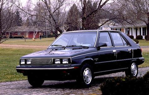 1985 renault alliance best selling cars matt s blog 187 1981