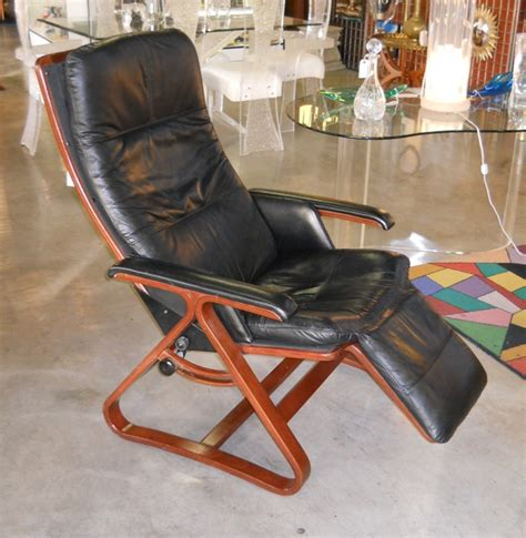 bentwood recliner vintage russel wright metal folding chair made for