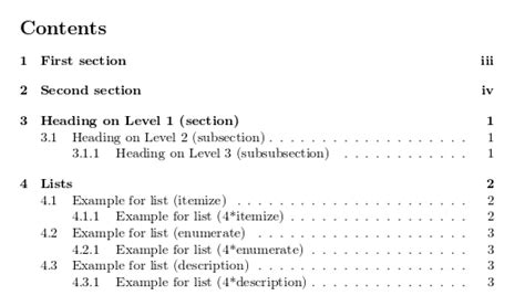 latex section number an introduction to latex professional typesetting and