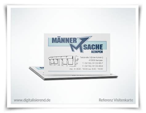 Visitenkarten Dsgvo by Visitenkarten Design Digitalisierend