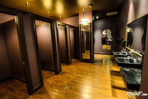 In Club Bathroom by The Huxley Opens Its Kimono Service Amenities The