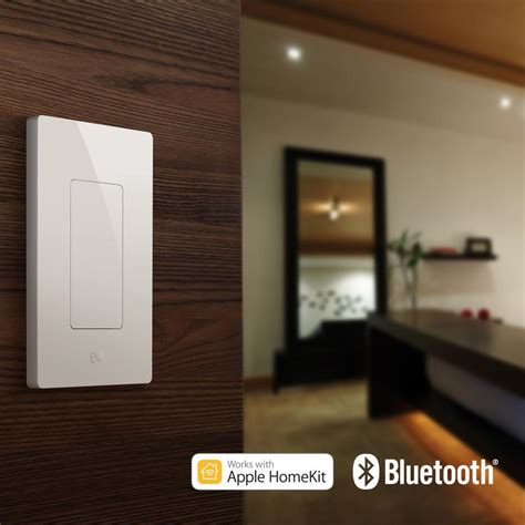 voice command light switch elgato light switch connected wall switch with apple