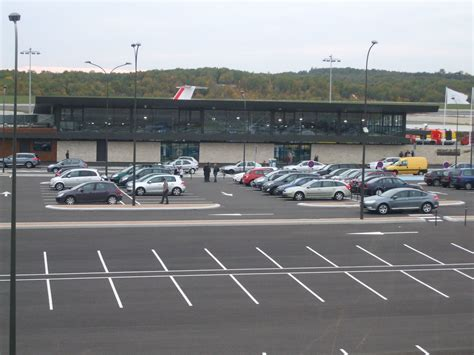 file car park at brive vall 233 e de la dordogne airport