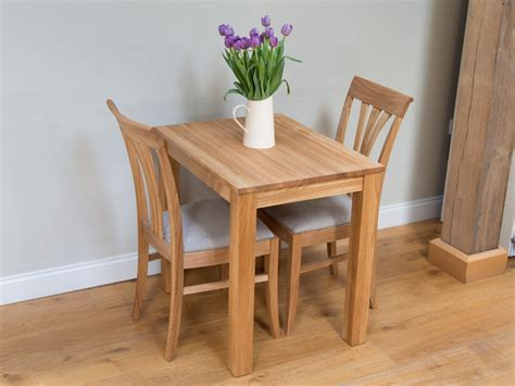small oak dining table and 2 chairs oak kitchen table chair dining set from top furniture