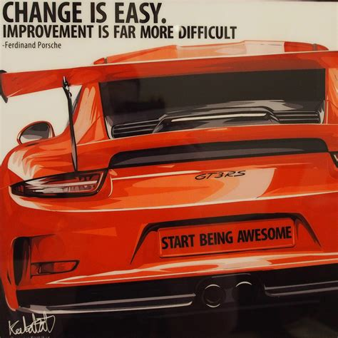 porsche 911 poster porsche 911 gt3 rs inspired mounted plaque poster quot change