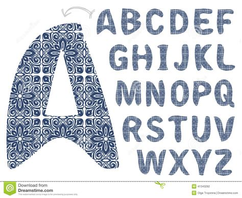 stock abc pattern pattern alphabet stock vector image 41343292