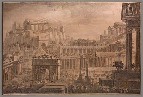 libreria romano marano di napoli luigi rossini parte foro romano e monte capitolino
