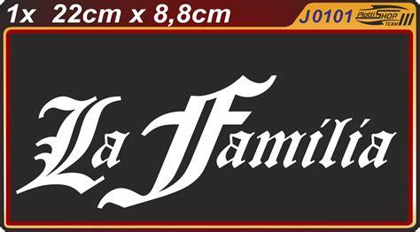 Aufkleber Von Papier Lösen by La Familia Style Aufkleber Sticker Sticker Bomb Shocker