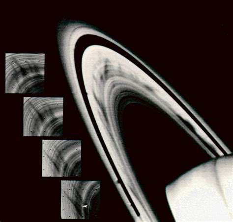 saturn ring spokes ring dynamics