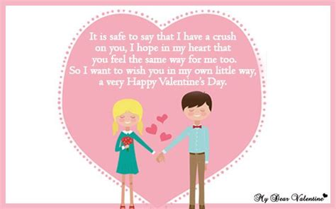 what to say on a valentines card valentines day cards for your crush search