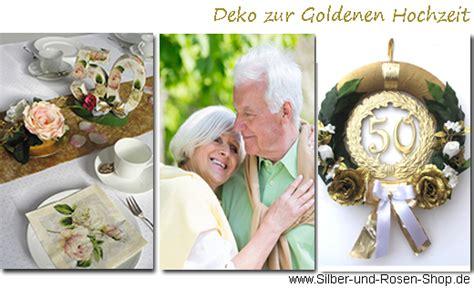 Deko Hochzeit Shop by Deko Goldene Hochzeit Silber Und Shop