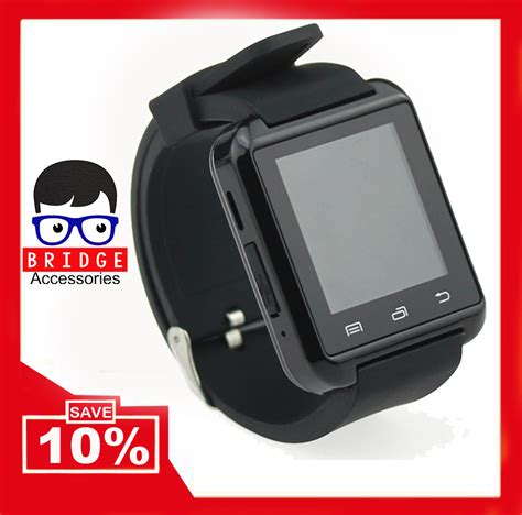 Bcare Smartwatch U8 For Android And Ios Hitam jual u8 bluetooth smartwatch for android and ios black bridgeacc