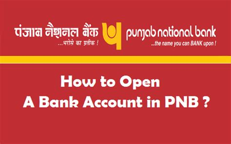 how to open a bank account in a foreign country how to open a bank account in pnb